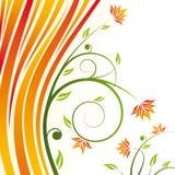 Bloemen ontwerpvector Stock Fotografie