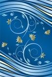 Bloemen ontwerpvector royalty-vrije illustratie