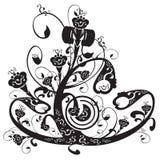 Bloemen ornament Royalty-vrije Stock Afbeeldingen