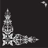 Bloemen ornament Royalty-vrije Stock Foto