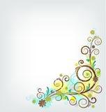 Bloemen ornament Stock Foto