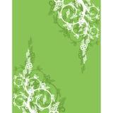 Bloemen ornament royalty-vrije illustratie