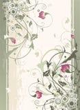Bloemen ornament Royalty-vrije Stock Foto's