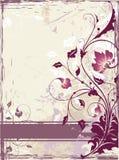 Bloemen ornament Stock Afbeelding
