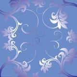 Bloemen ornament. stock illustratie