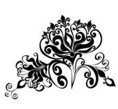 Bloemen ornament, Element voor ontwerp, vector   vector illustratie