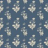 Bloemen overladen naadloos patroon. Royalty-vrije Stock Afbeeldingen