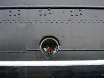 Bloemen in Patrijspoort Royalty-vrije Stock Afbeelding