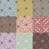 Bloemen patronen Royalty-vrije Stock Afbeelding