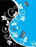 Bloemen patroon. stock illustratie