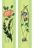 Bloemen patroon Stock Fotografie