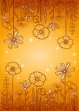 Bloemen patroon Stock Afbeelding