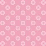 Bloemen patroon, achtergrond Stock Foto