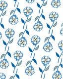 Bloemen patroon De achtergrond van de aard Stock Foto