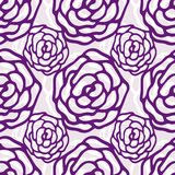 Bloemen patroon Nam naadloos vectorpatroon toe De textuur kan voor druk op stof of document en achtergrond in Webontwerp worden g Royalty-vrije Stock Foto's