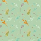 Bloemen patroon in pastelkleuren Stock Fotografie