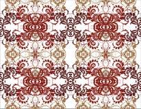 Bloemen patroon, vector Royalty-vrije Stock Fotografie