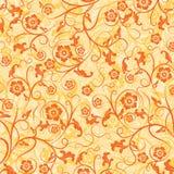 Bloemen patroon, vector Stock Afbeelding