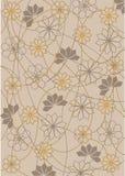 Bloemen patroonachtergrond Royalty-vrije Stock Afbeeldingen