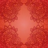 Uitstekende Paisley ornamentachtergrond Royalty-vrije Stock Afbeelding