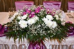Bloemen regeling Royalty-vrije Stock Fotografie