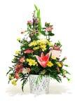 Bloemen regeling Stock Foto