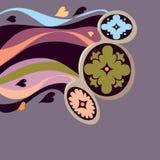 Bloemen. Regenboog Stock Afbeeldingen