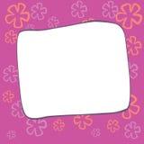 bloemen retro van de patroonbanner vector als achtergrond Royalty-vrije Stock Afbeeldingen