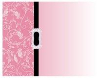 Bloemen roze achtergrond Stock Afbeeldingen