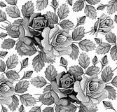 Bloemen. Rozen. Mooie achtergrond. Stock Afbeelding
