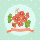Bloemen samenstelling Royalty-vrije Stock Foto's