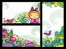 Bloemen samenstellingen 3 Stock Afbeelding