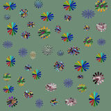 Bloemen Samenvatting Stock Fotografie
