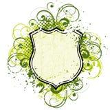 Bloemen Schild royalty-vrije illustratie