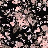 bloemen sier naadloos patroon De achtergrond van de bloemtuin FL royalty-vrije illustratie