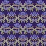 Bloemen simmless ontwerp Royalty-vrije Stock Afbeelding