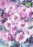 Bloemen stemming. royalty-vrije illustratie
