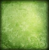 Bloemen stijl oude document texturenachtergrond Stock Foto's