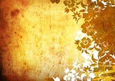Bloemen stijlachtergronden stock illustratie