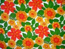 Bloemen stof Royalty-vrije Stock Foto's