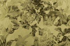 Bloemen stof Stock Afbeelding