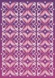 Bloemen textielpatroon Stock Foto