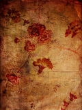 Bloemen Texturen Grunge Royalty-vrije Stock Fotografie