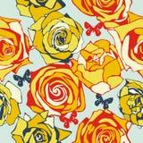 Bloemen textuur royalty-vrije illustratie
