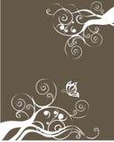 Bloemen textuur Royalty-vrije Stock Foto
