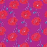 Bloemen textuur Stock Afbeeldingen