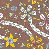Bloemen textuur Royalty-vrije Stock Foto's
