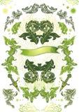 Bloemen themed banner vector illustratie