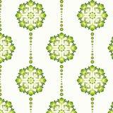 Bloemen Uitstekend Behang Stock Foto