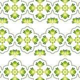 Bloemen Uitstekend Behang Royalty-vrije Stock Afbeelding